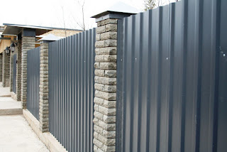 Забор из профлиста. Фото 29