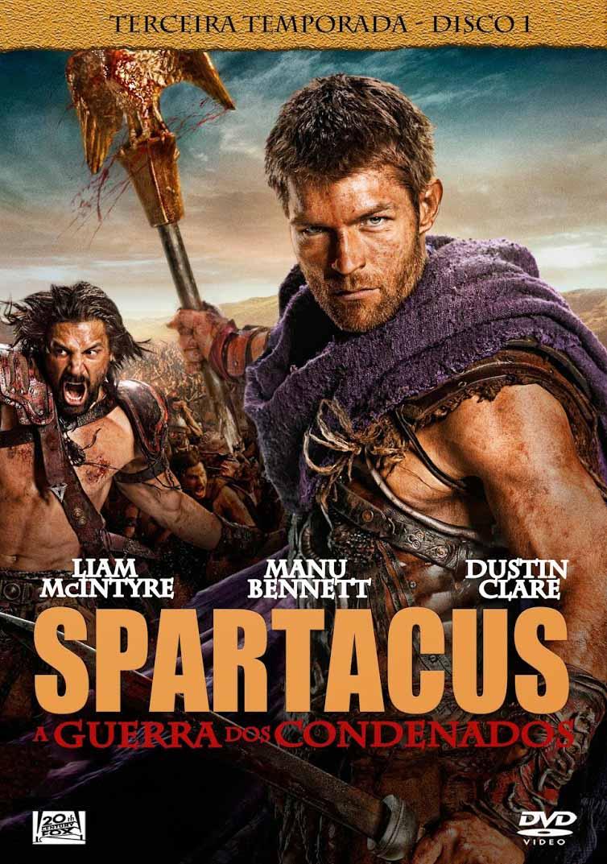 Spartacus 3ª Temporada Completa Torrent – BluRay 720p Dual Áudio