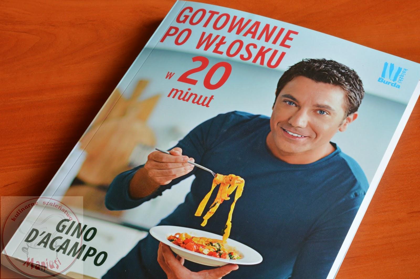 Książka Gotowanie po włosku w 20 minut - recenzja