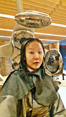 Myeongdong Juno Hair Salon (준오헤어) for hair cut + perm | www.meheartseoul.blogspot.sg