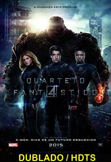 Assistir Quarteto Fantástico Dublado 2015