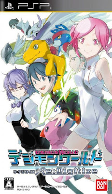 Download Digimon World Re:Digitize (Full English Patched) PSP ISO
