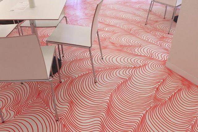 Permanent Marker floor art