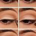 Beautiful Light Brown Eyeliner Tutorial