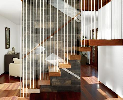 desain tangga rumah minimalis 2 lantai