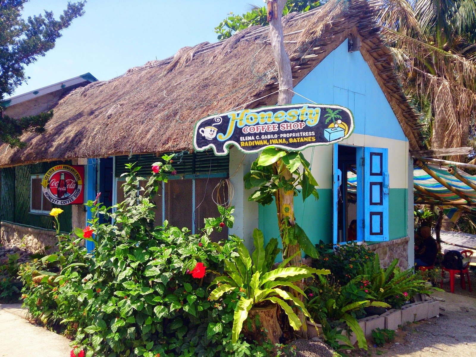 Honesty Coffee Shop, South Batan, Batanes