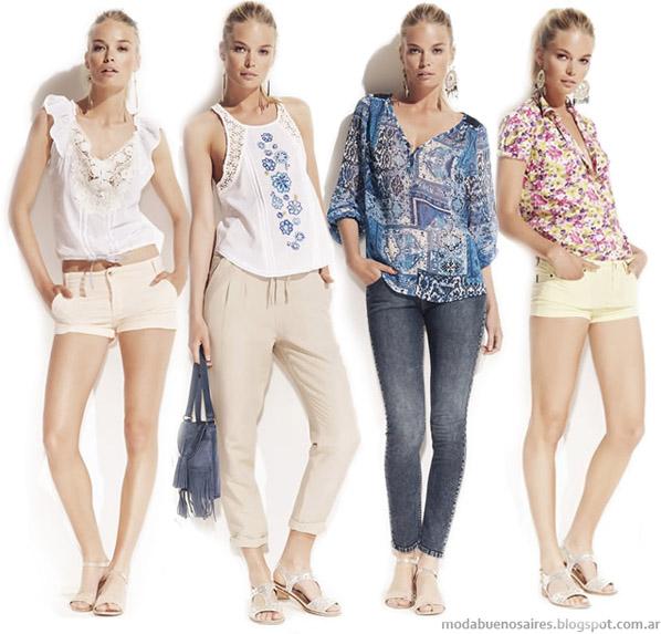 Kevingston Mujer 2014. Moda ropa de mujer marcas argentinas. Moda 2014