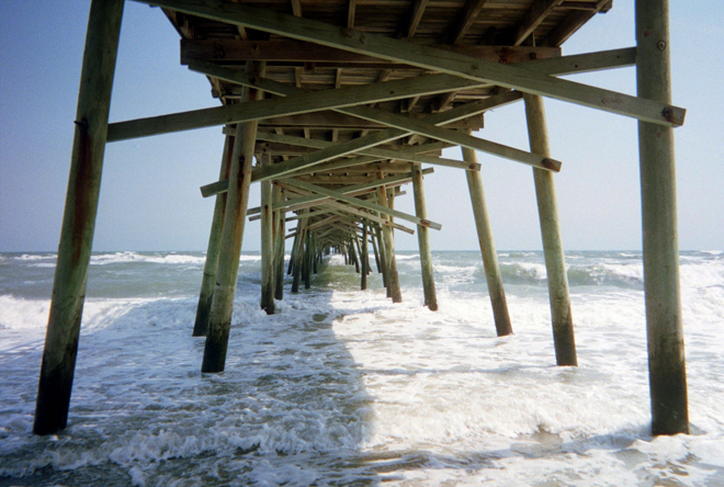 Atlantic Beach, pier