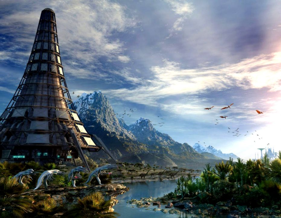 planet alien landscape  Alien Planet 11061 Hd Wallpapers