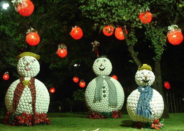 Cantinho da Francicleide Decoraç u00e3o de natal de garrafas pet -> Decoração De Natal De Mesa Com Garrafa Pet