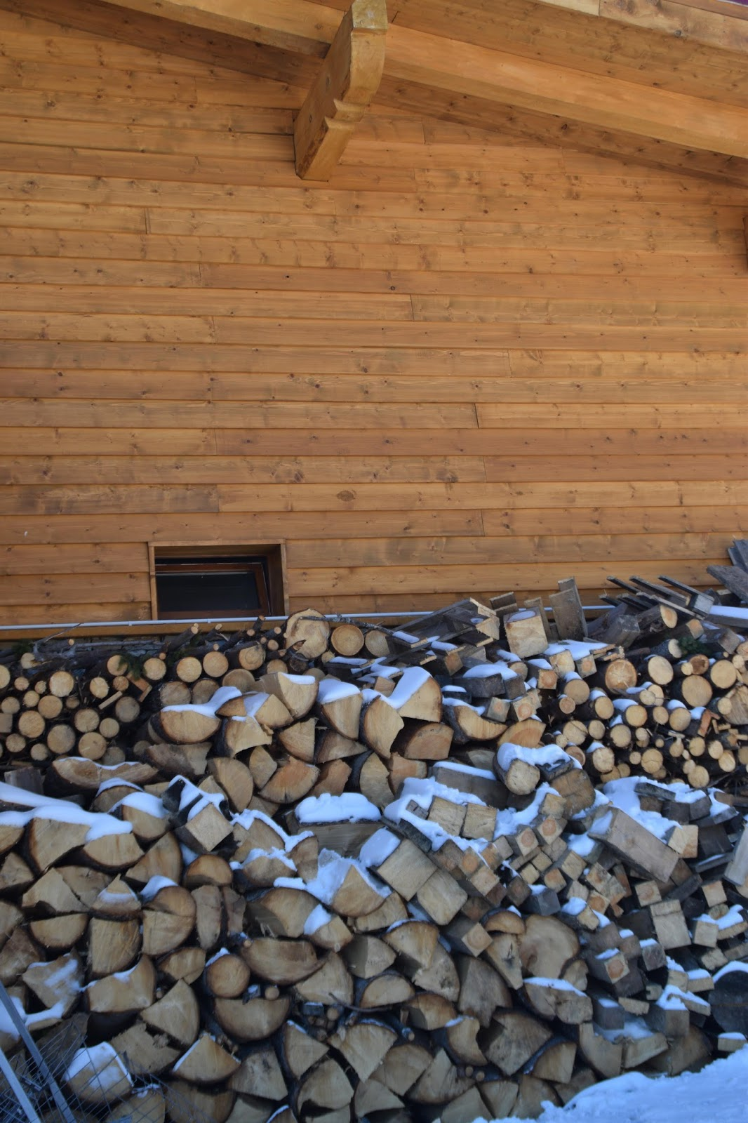 Bansko Ski Resort chalet's fireplace