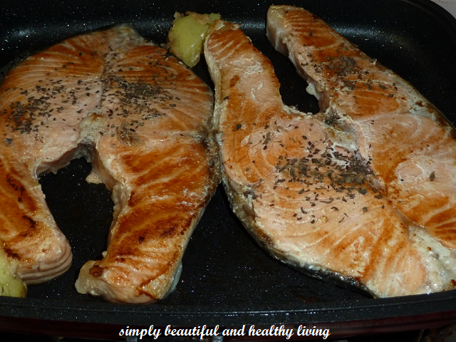 how to cook salmon in a pan no skin