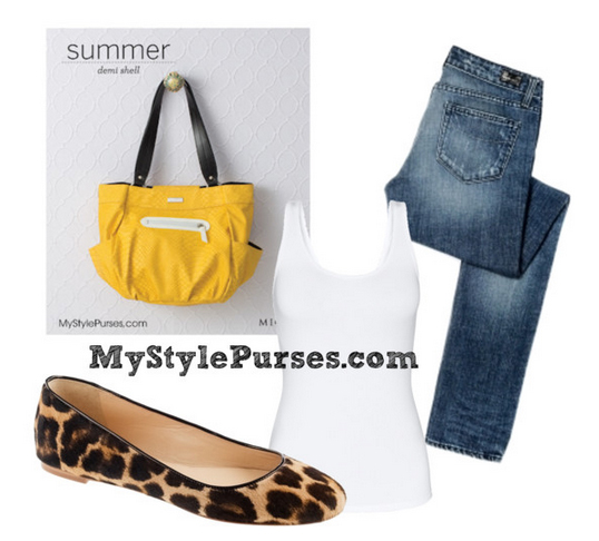 Get Pricing / Order Miche Summer Demi Shell Yellow Purse