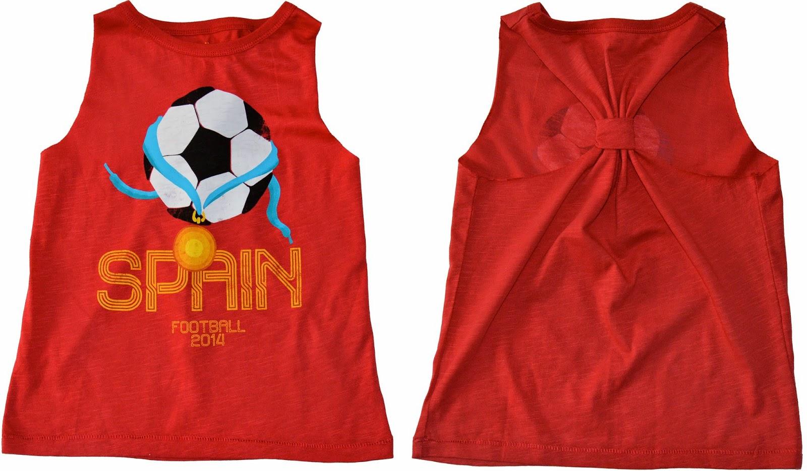 Tutorial camiseta con escote en la espalda para niña