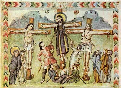 Разпятие Христово сирийско евангелие