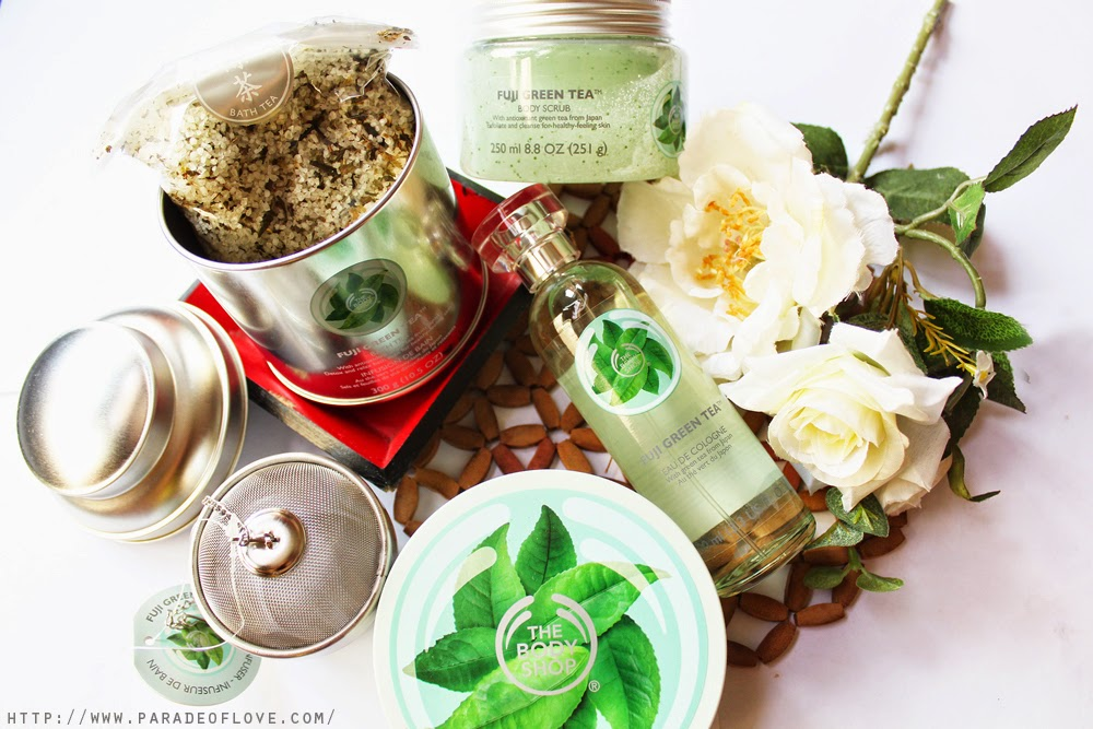 The Body Shop's Fuji Green Tea