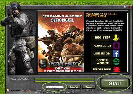 Special Force 2 Game Launcher