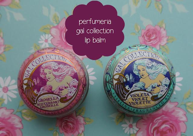 perfumeria gal collection lip balm swatch