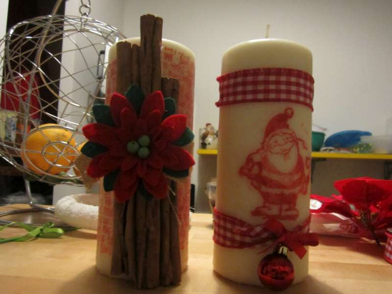 Pinkdesigns candele decorate for Candele decorate