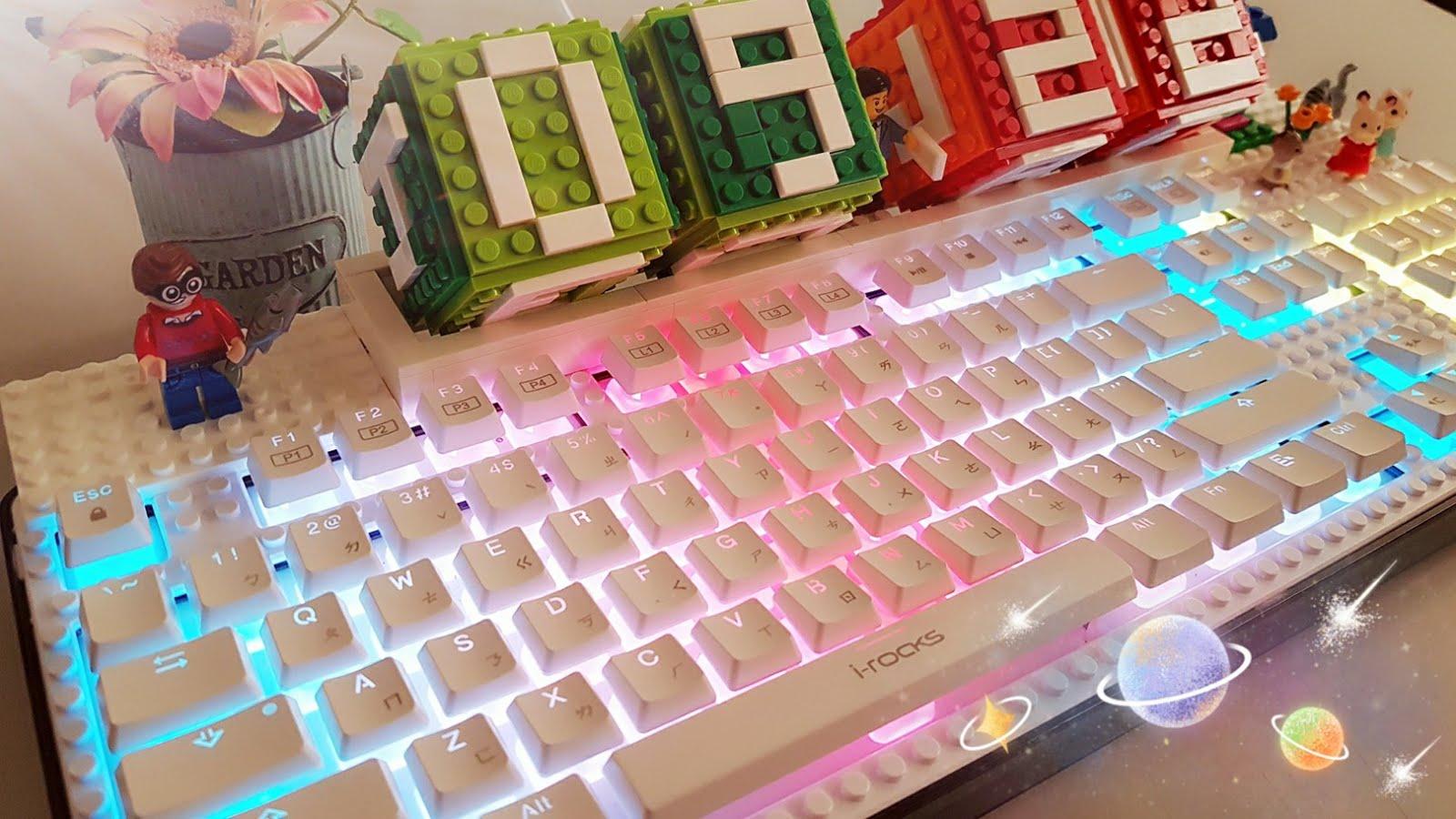 萌萌達樂高鍵盤K70E
