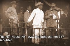 Theodore Roosvelt wearing a Panama Hat