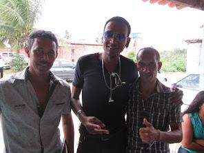 Com o Amigo  Roberto da Banda Ondas livres