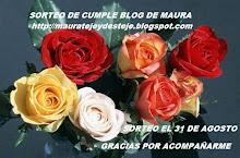 MAURA ESTA DE CUMPLE