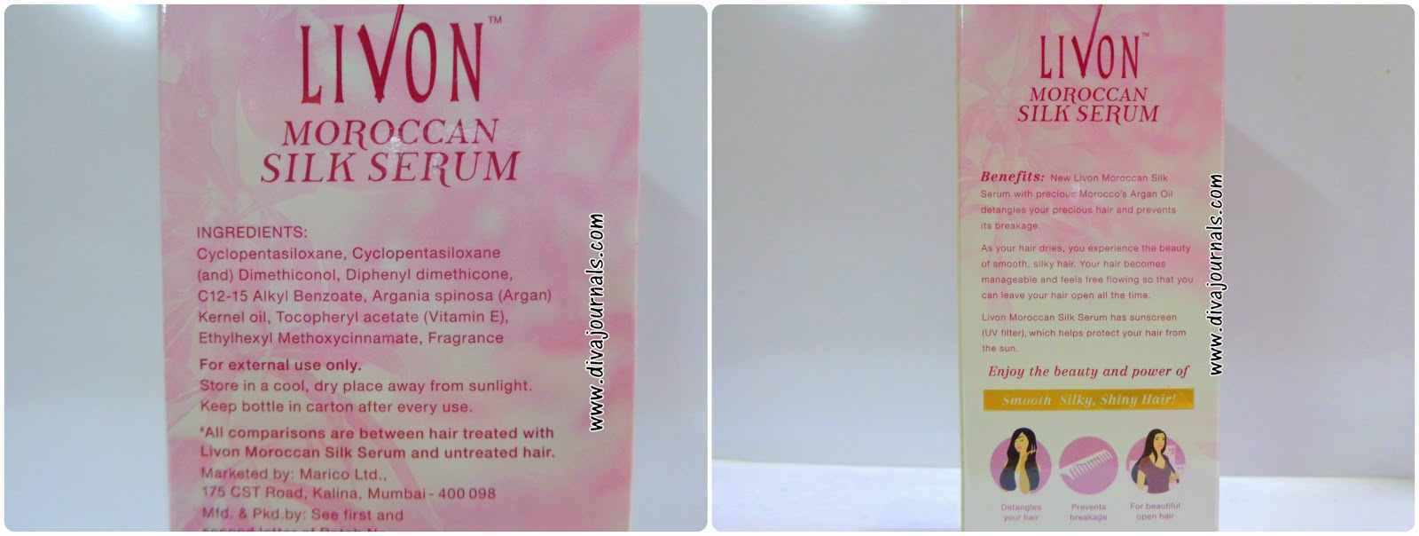 Livon Moroccan Silk Serum Review