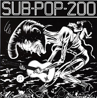 Sub Pop 200 grunge nirvana vinyle disque art sound