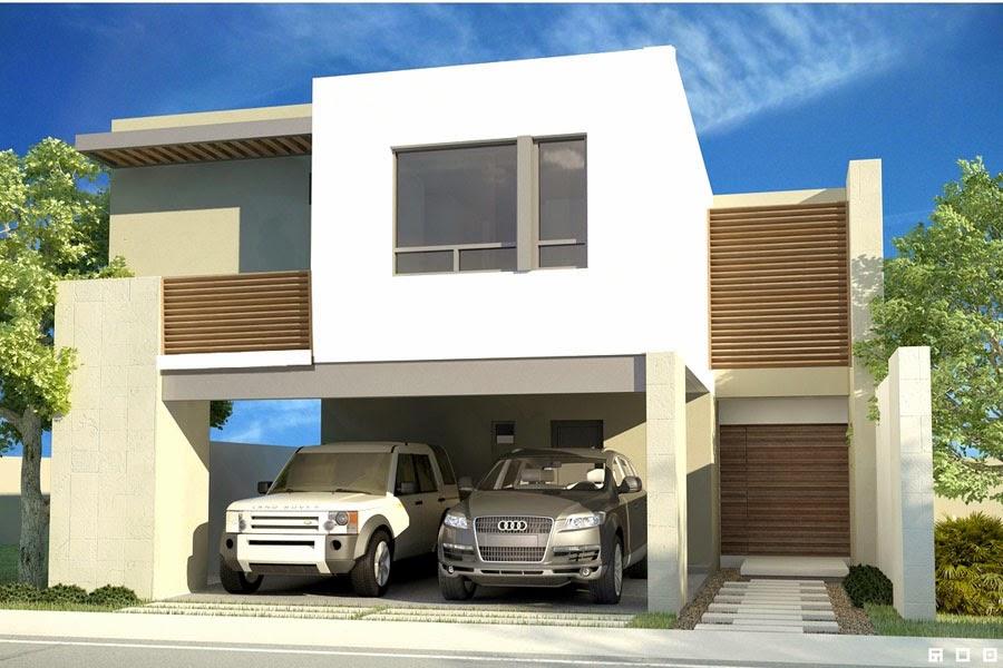 Fachadas contempor neas casas contempor neas de modernas for Casas modernas en mexico