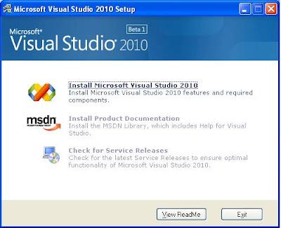 Cài đặt: Hướng dẫn cài đặt Visual Studio 2010 (hình ảnh)