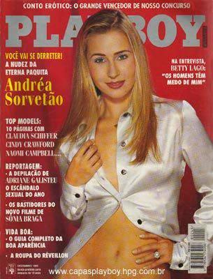 Andréa Sorvetão - Playboy 1995