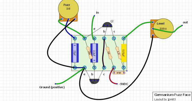 Germanium Bfuzz Bface Beyelet Blayout on Transfer Switch Wiring Diagram