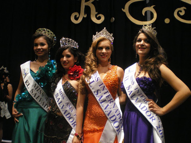 Miss Asia Pacific World El Salvador 2012