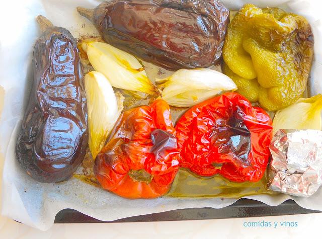 Escalivada, warzywa pieczone po hiszpańsku