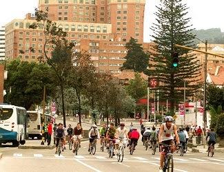 Ciclovia Bogotá
