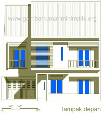 Desain Fasade Rumah Minimalis Mewah