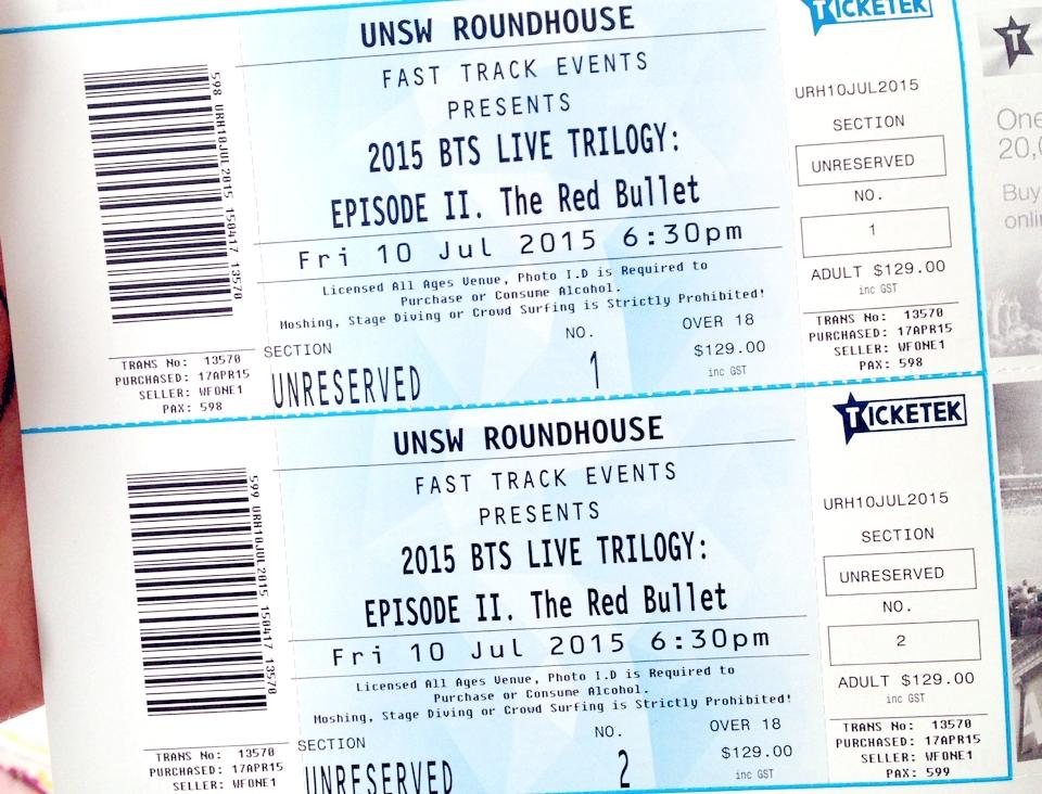 U Australian Tour  Dates