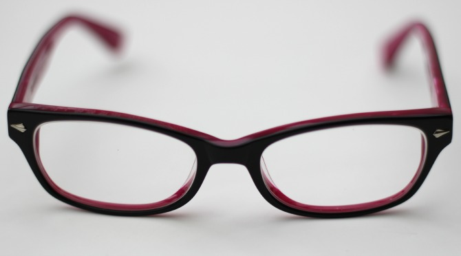 Superdry glasses in pink