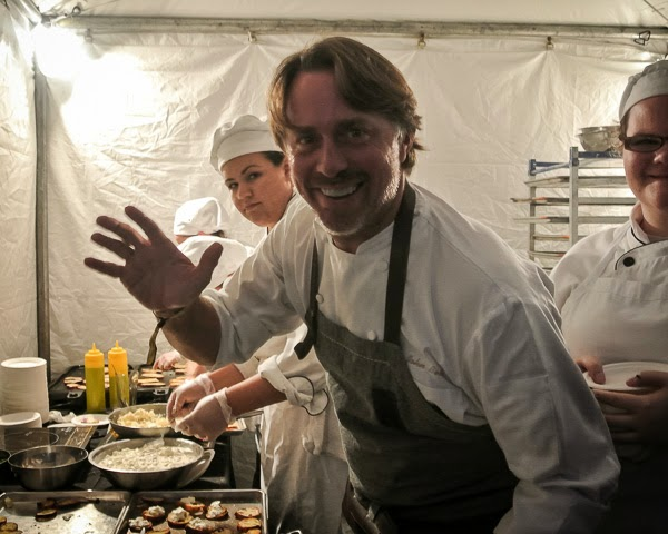 Chef Jon Besh at Music City Eats Food Festival in Nashville Tennessee