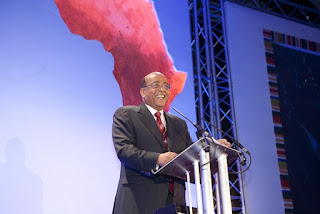 "Dr. Mohamed ""Mo"" Ibrahim is a very successful Sudanese entrepreneur."