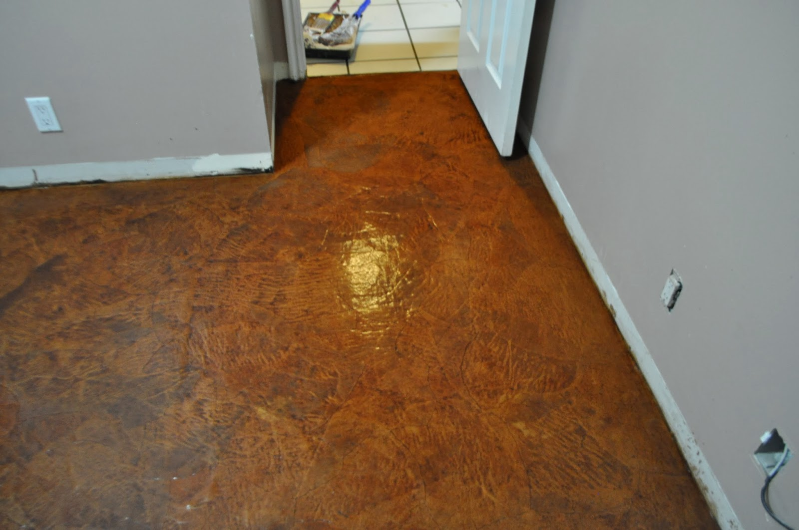 A purposeful path my first paper bag floor a test and learn for On the floor