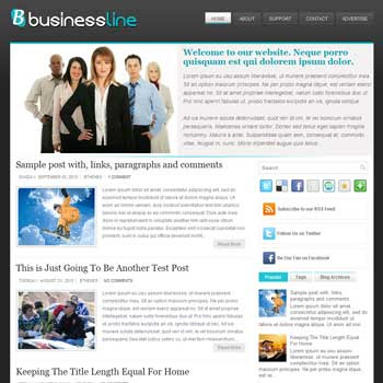 Business Line blog template. template image slider blog. magazine blogger template style. wordpress theme to blogger