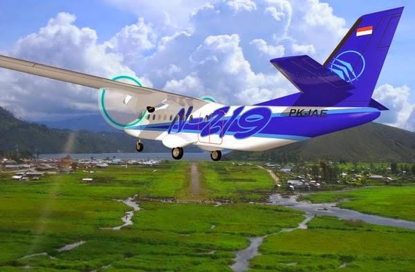 Pemerintah Targetkan Pesawat N-219 Terbang Tahun 2015