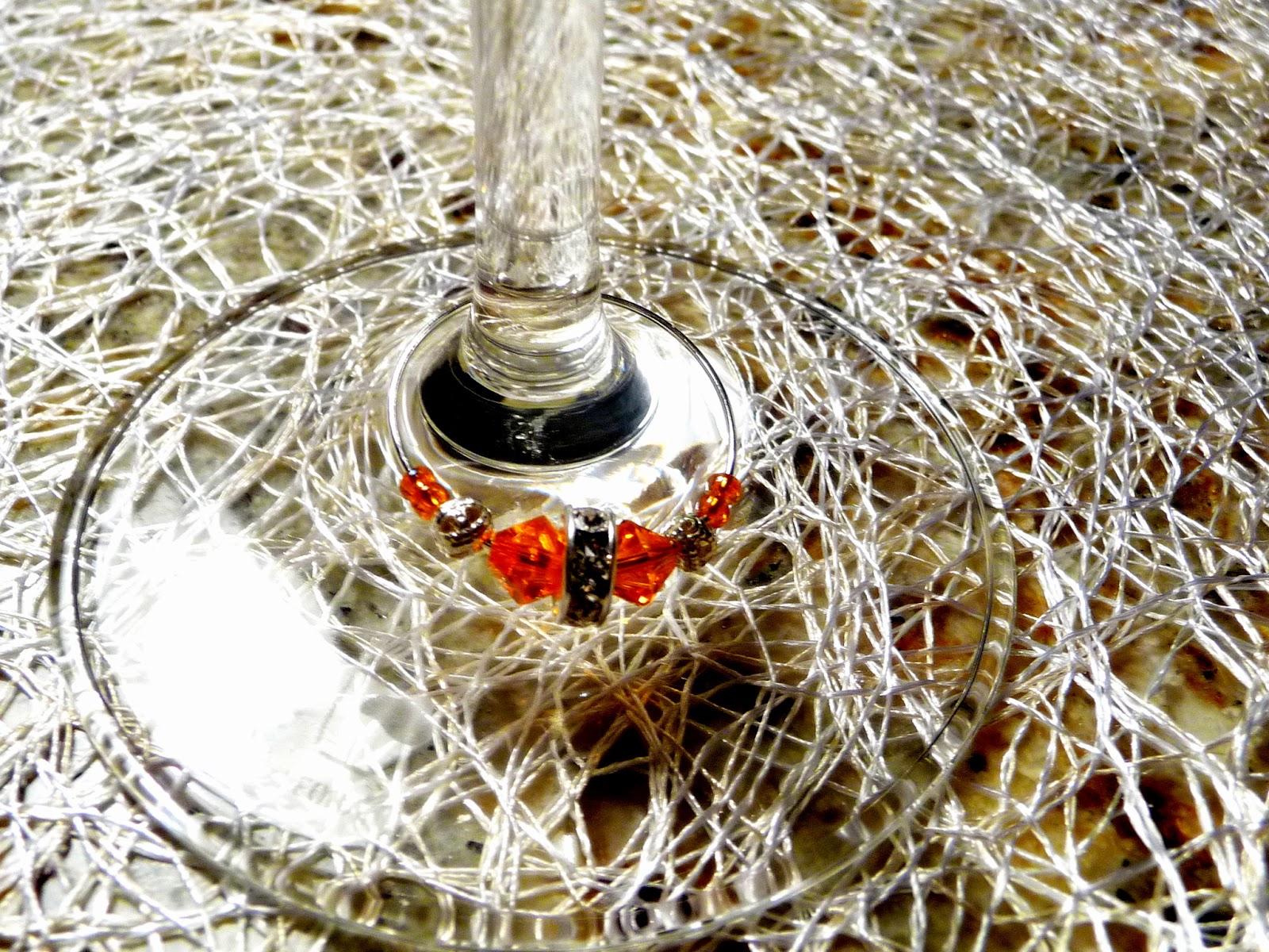 Weinglasringe - Glasmarkierer