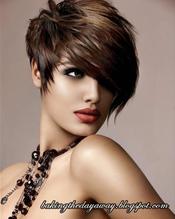 Admin berikan gambar model potongan rambut pendek wanita terbaru