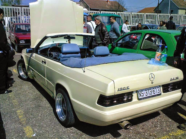 mercedes w201 cabriolet shulz