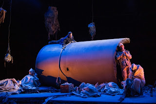 Helen Sherman in L'Assedio di Calais (act 1, scene 1) English Touring Opera,  photography Richard Hubert Smith