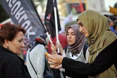Gezi direnişi toplumsal bölünme