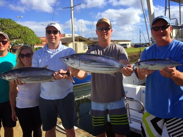 C lure fishing chaters kauai hawaii tuna fishing on kauai for Fishing in kauai